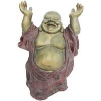 Bydlení Sošky a figurky Signes Grimalt Šťastný Buddha. Multicolor