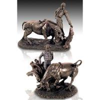 Bydlení Sošky a figurky Signes Grimalt Bullfighters Dorado