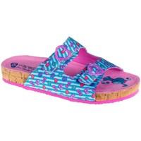 Boty Dívčí Dřeváky Skechers Granola Modré, Růžové