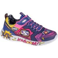 Boty Děti Nízké tenisky Skechers Dynamight Modré, Žluté, Růžové