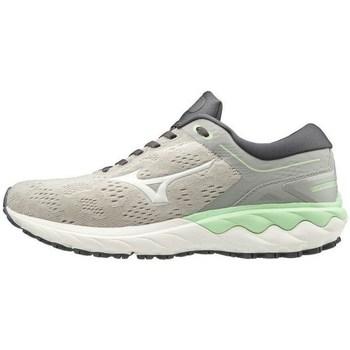 Boty Ženy Nízké tenisky Mizuno Wave Skyrise Bílé, Šedé, Bledě zelené
