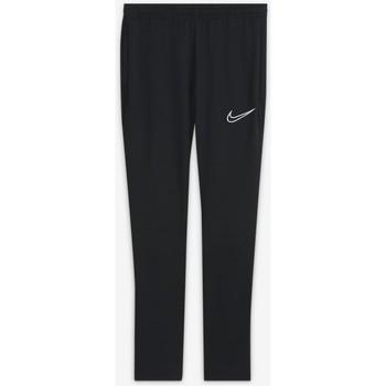 Textil Děti Teplákové kalhoty Nike PANTALÓN CHANDAL NEGRO UNISEX  CW6124 Bílá