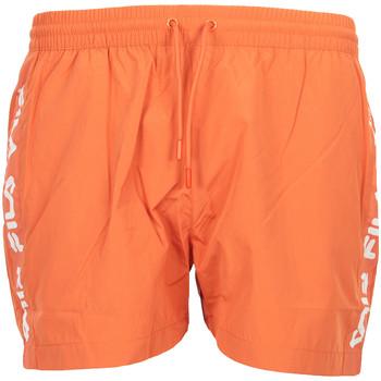 Textil Muži Plavky / Kraťasy Fila Sho Swim Shorts Oranžová