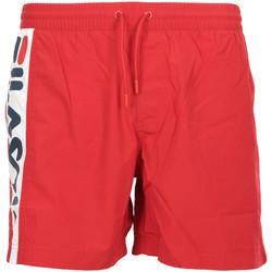 Textil Muži Plavky / Kraťasy Fila Hitomi Swim Shorts Červená