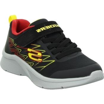Boty Děti Nízké tenisky Skechers Microspec Texlor Černé
