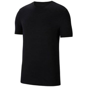 Textil Muži Trička s krátkým rukávem Nike Park 20 M Tee Černé