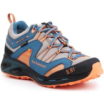 Boty Muži Pohorky Garmont 9.81 Trail Pro III GTX 481221-211 blue, orange, grey