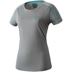 Textil Ženy Trička s krátkým rukávem Dynafit Transalper W SS Tee Šedé