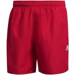 Textil Muži Plavky / Kraťasy adidas Originals Solid Swim Červené