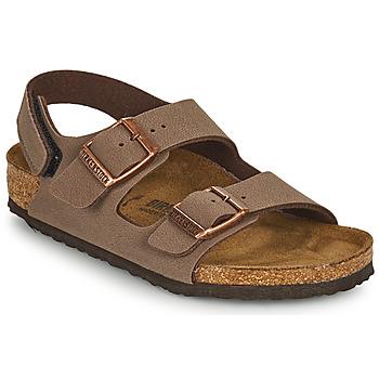 Boty Chlapecké Sandály Birkenstock MILANO HL Hnědá