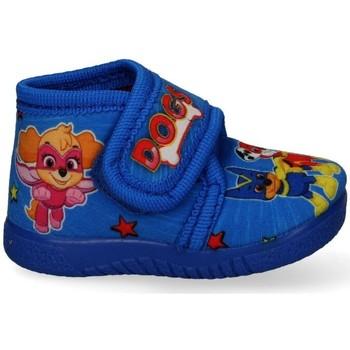 Boty Chlapecké Papuče Luna Collection 53391 Modrá