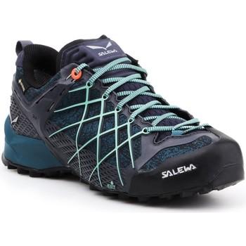 Boty Ženy Pohorky Salewa Buty trekkingowe  Wildfire GTX 63488-3838 navy , blue, black