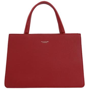 Taška Ženy Kabelky  Diana & Co Dámská kabelka do ruky červená červená