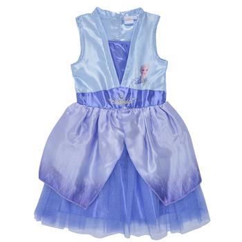 Textil Dívčí Krátké šaty TEAM HEROES  FROZEN DRESS Modrá