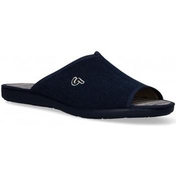 Boty Muži Papuče Garzon 54978 Modrá
