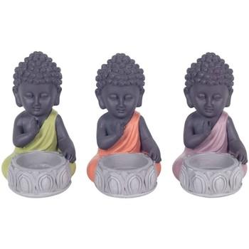 Bydlení Sošky a figurky Signes Grimalt T-Light Buddha V Září Dívčí 3U Multicolor