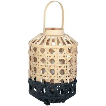 Bydlení Stolní lampy Signes Grimalt Larol Bambus Malý Přírodní Negro