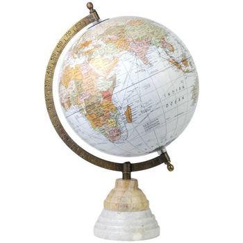 Bydlení Sošky a figurky Signes Grimalt Globe Mundo. Blanco