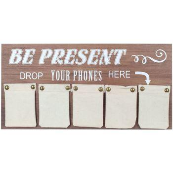 Bydlení Kufry, úložné boxy Signes Grimalt Adorno Nástěnné Telefony Multicolor