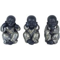 Bydlení Sošky a figurky Signes Grimalt Buddha No Go-Oye-Speech V Září 3U Plateado