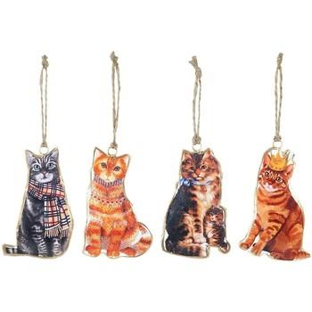 Bydlení Slavnostní dekorace Signes Grimalt Kočka Visí Na 4. Září U Multicolor