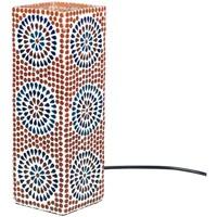 Bydlení Stolní lampy Signes Grimalt Obdélníkový Mosaic Lamp Multicolor