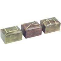Bydlení Kufry, úložné boxy Signes Grimalt Obdélníkový Box V Září 3U Multicolor