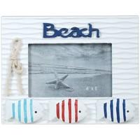 Bydlení Rámečky na fotografie Signes Grimalt Frame Photo Beach S Rybou Multicolor