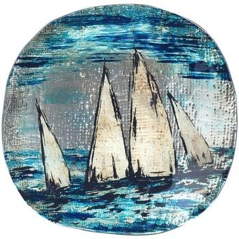 Bydlení Tácy a misky Signes Grimalt Kulatá Miska Boat Azul