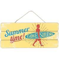 Bydlení Obrazy, plátna Signes Grimalt Pryč Surfin Wall Ornament Amarillo