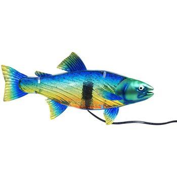 Bydlení Stolní lampy Signes Grimalt Stolní Lampa Fish Azul
