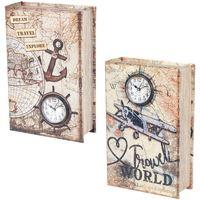 Bydlení Kufry, úložné boxy Signes Grimalt Book 2 Different 2U Box Multicolor
