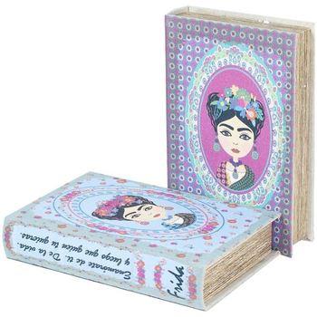 Bydlení Kufry, úložné boxy Signes Grimalt Book 2 Different 2U Box Azul