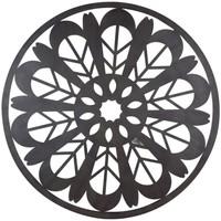 Bydlení Obrazy, plátna Signes Grimalt Mandala Wall Ornament Negro