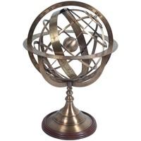 Bydlení Sošky a figurky Signes Grimalt Armillary Sphere Dorado