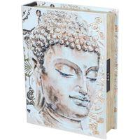 Bydlení Kufry, úložné boxy Signes Grimalt Kniha Kniha Kniha Buddha Beige
