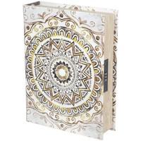 Bydlení Kufry, úložné boxy Signes Grimalt Safety Box Book Marrón