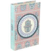 Bydlení Kufry, úložné boxy Signes Grimalt Fatima Hand Book Box Multicolor