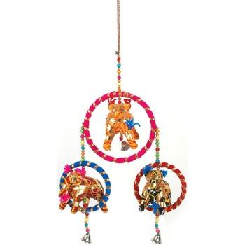 Bydlení Slavnostní dekorace Signes Grimalt Indie Slon Přívěsek Multicolor
