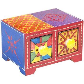 Bydlení Kufry, úložné boxy Signes Grimalt Especiero 2 Zásuvky Multicolor