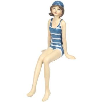 Bydlení Sošky a figurky Signes Grimalt Sedící Koupající Azul