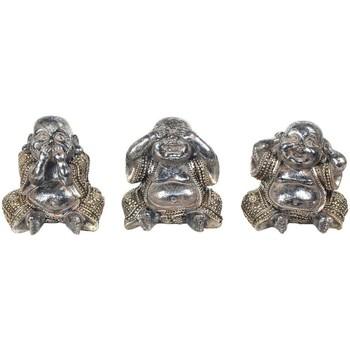 Bydlení Sošky a figurky Signes Grimalt Buddha 3 Různé Set 3U Plateado