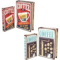 Bydlení Kufry, úložné boxy Signes Grimalt Box Set Sešit 4U Multicolor