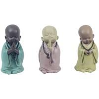 Bydlení Sošky a figurky Signes Grimalt Monk 3 Různé Set 3U Multicolor