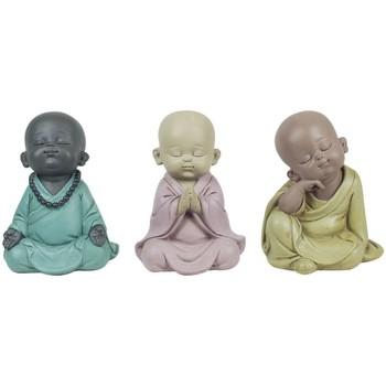 Bydlení Sošky a figurky Signes Grimalt Buddha 3 Různé Set 3U Multicolor