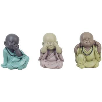 Bydlení Sošky a figurky Signes Grimalt Buda Vidět, Slyšet, Mluvit 3U Multicolor
