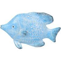Bydlení Sošky a figurky Signes Grimalt Pryskyřice Ryby Azul