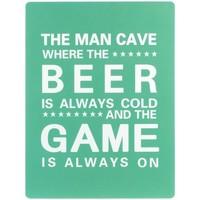 Bydlení Obrazy, plátna Signes Grimalt Wall Plate Beer Game Verde