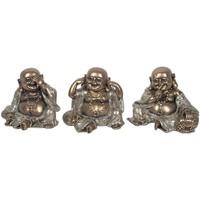 Bydlení Sošky a figurky Signes Grimalt Malé Golden Buddha 3U Dorado