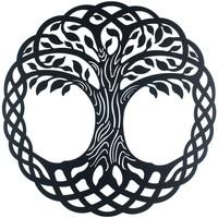 Bydlení Obrazy, plátna Signes Grimalt Ornament Stěnový Strom. Negro